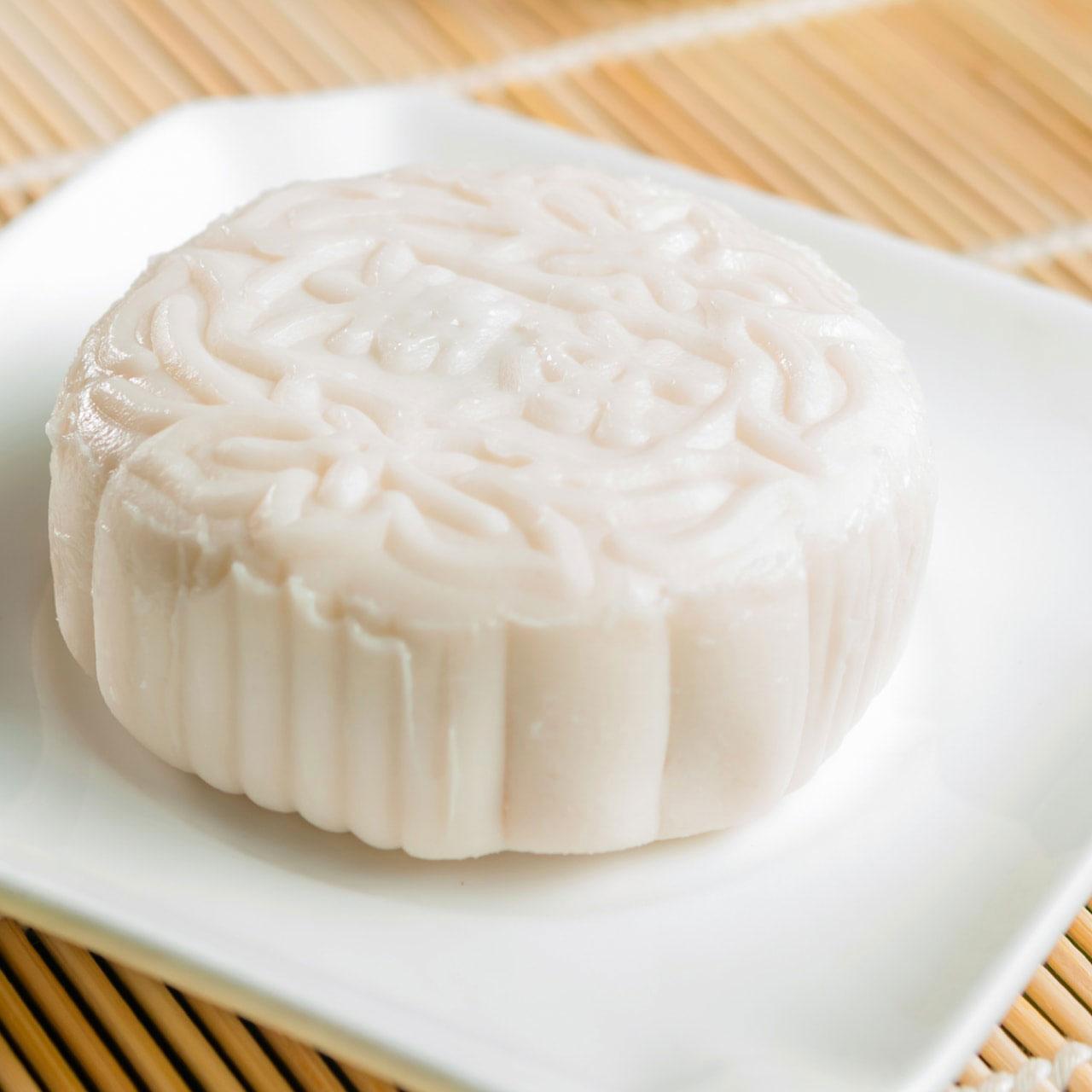 南瓜蓉冰皮月餅