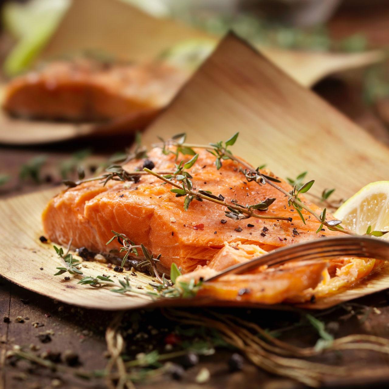 橄欖油慢煮三文魚