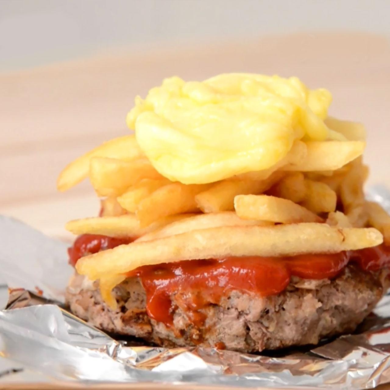 「芝」味薯條小burger